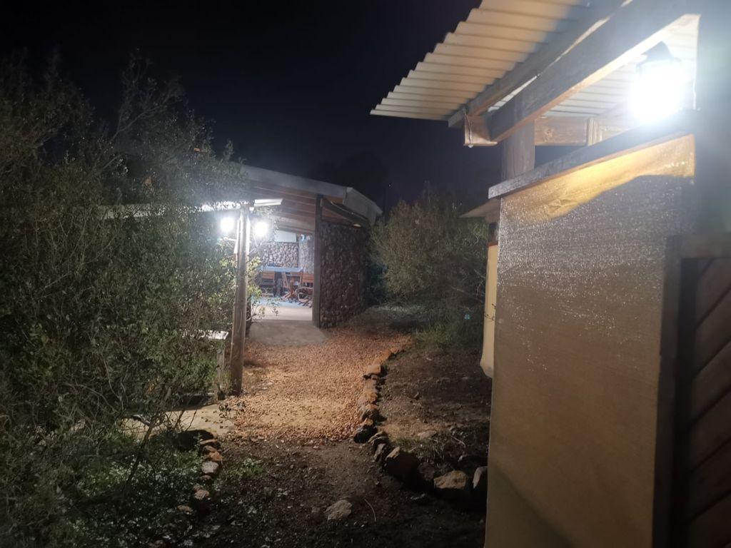 Solar light at night